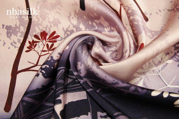 khăn lụa cầu thê húc hồng