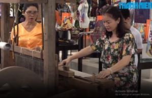 Nhasilk recreated 600 years of Duy Xuyen silk craft