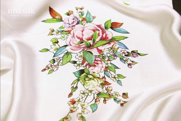 Hoa mẫu đơn xanh hồng