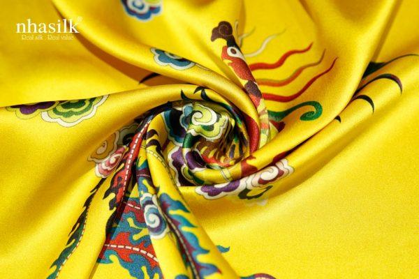 khăn lụa phượng bào