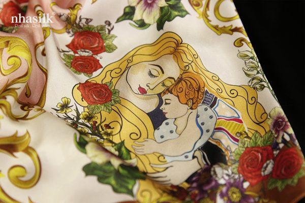 khăn lụa nhasilk siêu đẹp