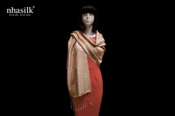 khăn choàng lụa
