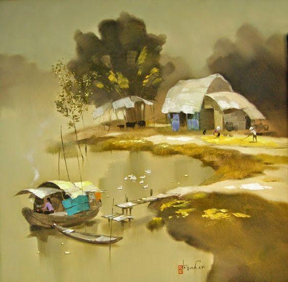 Tranh sơn mài - Món quà Việt thu hút người Pháp