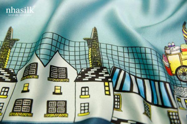 khăn lụa ấn tượng sài gòn 2