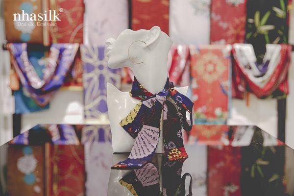 khăn lụa turban