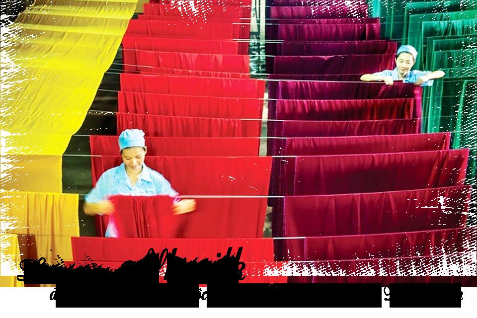 """Lụa của Nhasilk được lấy từ Bảo Lộc - """"thủ phủ tơ lụa"""" của Việt Nam"""
