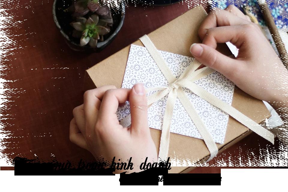 Tặng quà trong kinh doanh có vai trò hết sức quan trọng