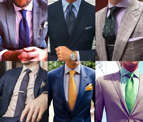 cách chọn mua cà vạt cho quý ông