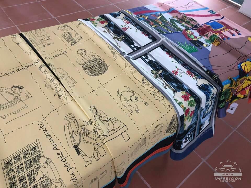 khăn choàng cổ ỡ vũng tàu vietnam silk