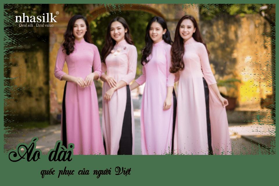 Áo dài - quốc phục của người Việt