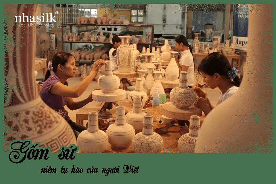 Gốm sứ - niềm tự hào của người Việt