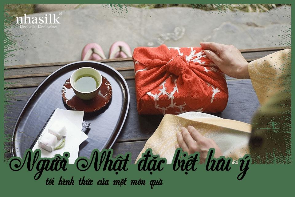Người Nhật đặc biệt lưu ý tới hình thức của một món quà