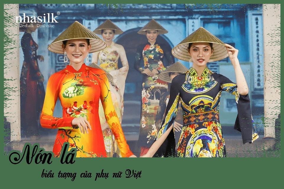 Nón lá biểu tượng của phụ nữ Việt