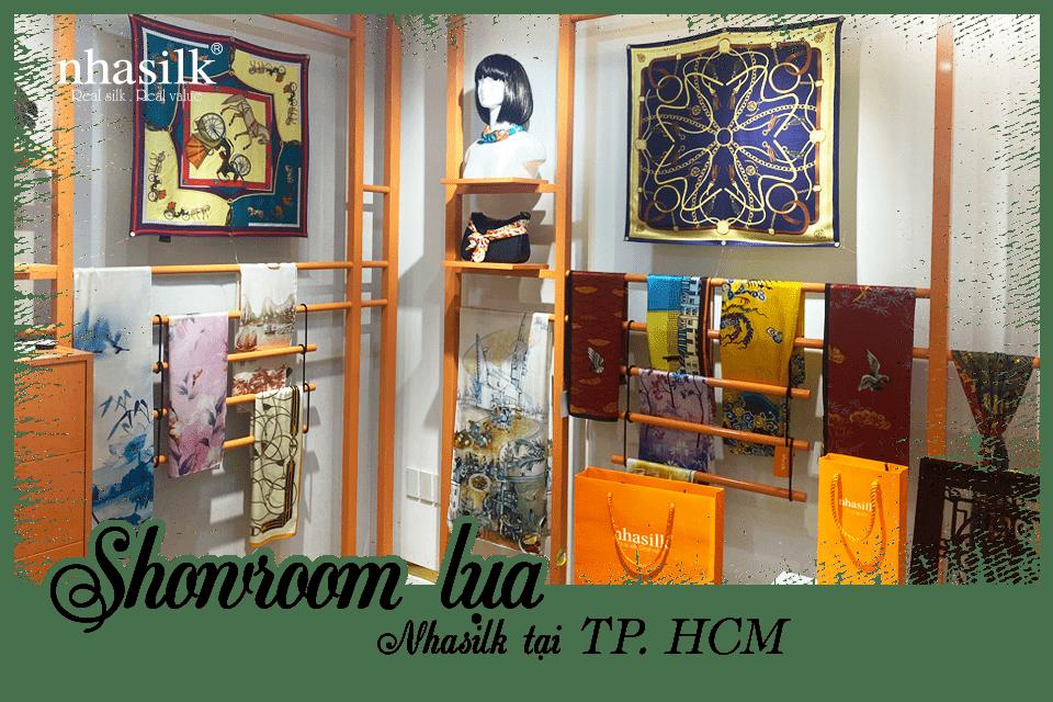 Showroom lụa Nhasilk tại TP. HCM