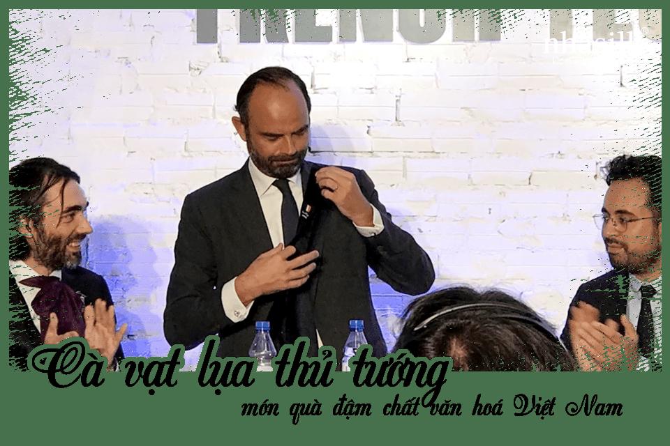 Cà vạt lụa thủ tướng - món quà đậm chất văn hoá Việt Nam