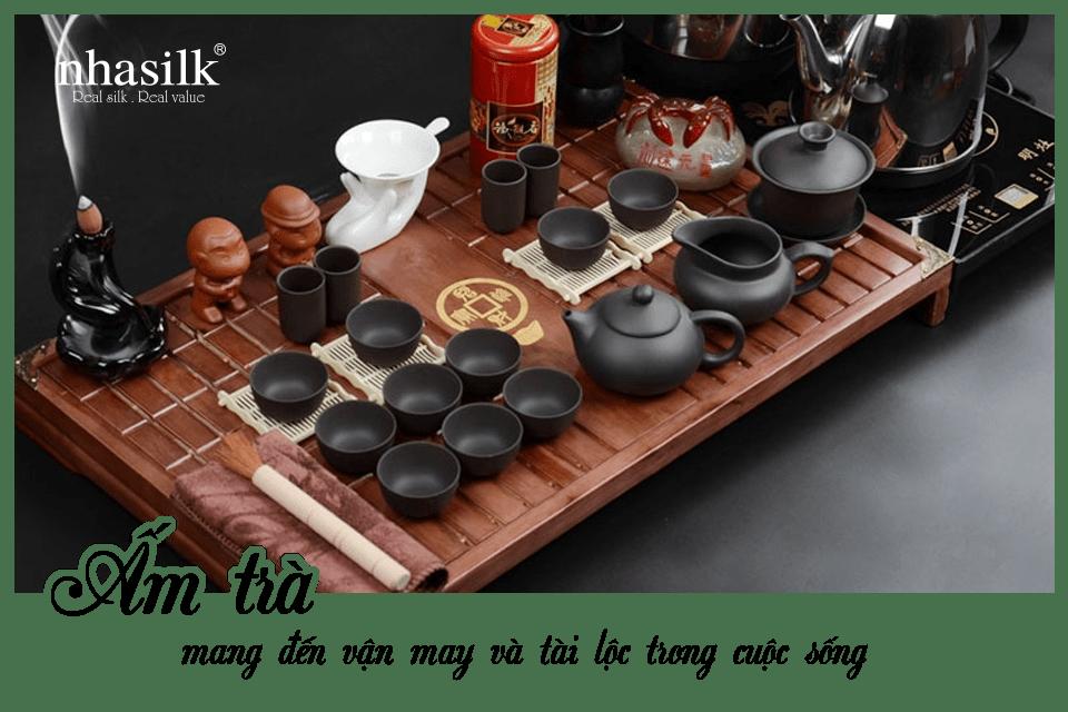 Ấm trà mang đến vận may và tài lộc trong cuộc sống