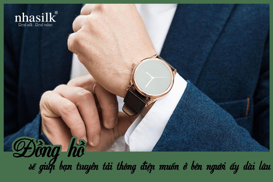 Đồng hồ sẽ giúp bạn truyền tải thông điệp muốn ở bên người ấy dài lâu