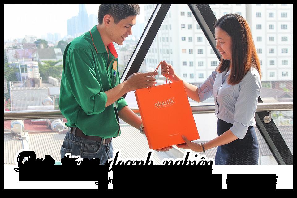 Quà tặng doanh nghiệp - Lời cảm ơn chân thành thay lời muốn nói