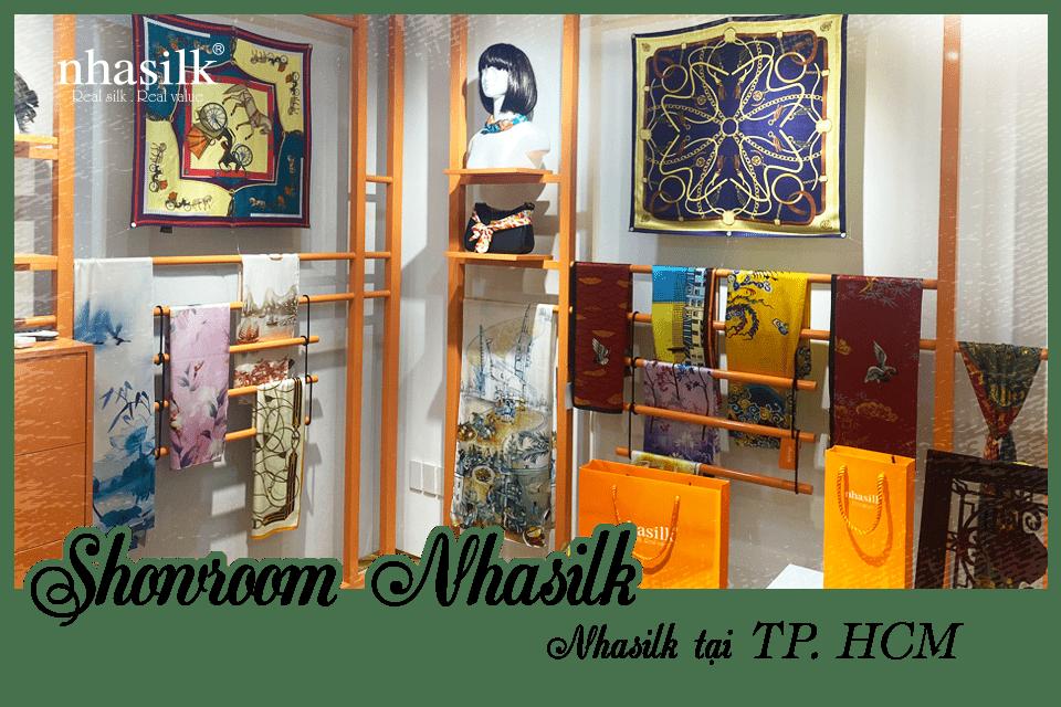 Cửa hàng tơ lụa Nhasilk tại Tp. HCM