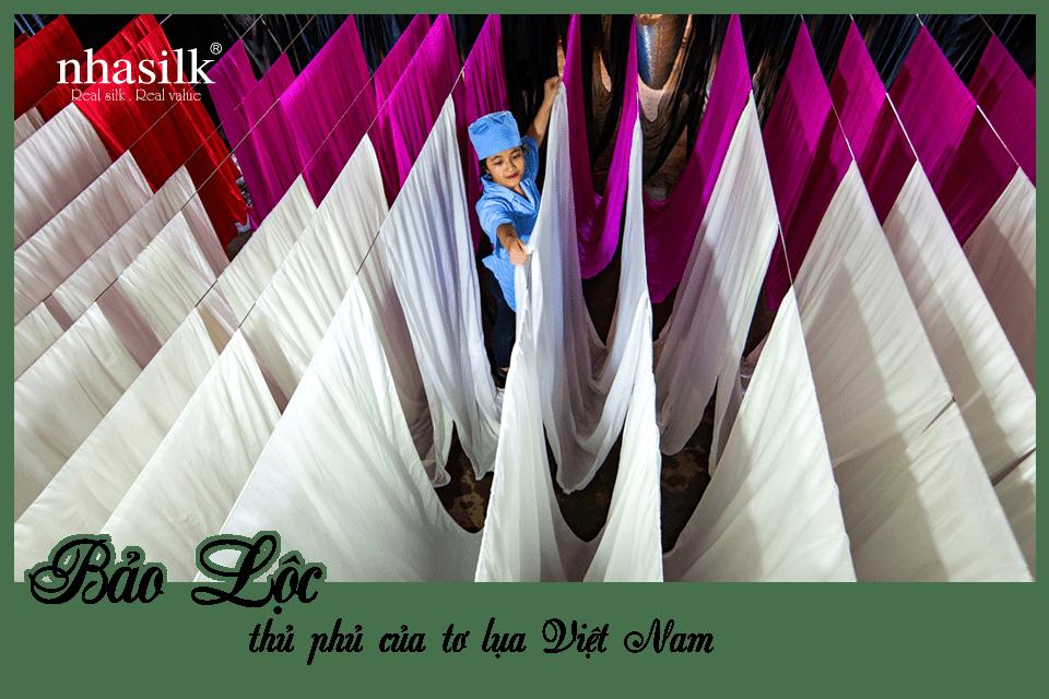 Bảo Lộc, thủ phủ của tơ lụa Việt Nam