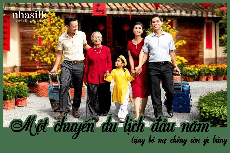 Một chuyến du lịch đầu năm tặng bố mẹ chồng còn gì bằng