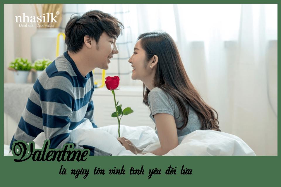 Valentine là ngày tôn vinh tình yêu đôi lứa