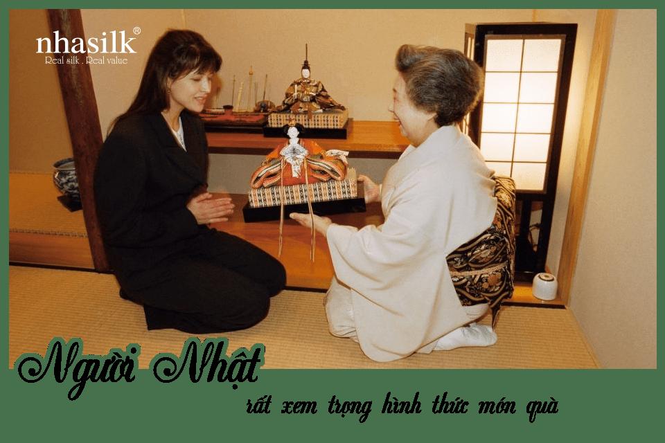 Người Nhật rất xem trọng hình thức món quà