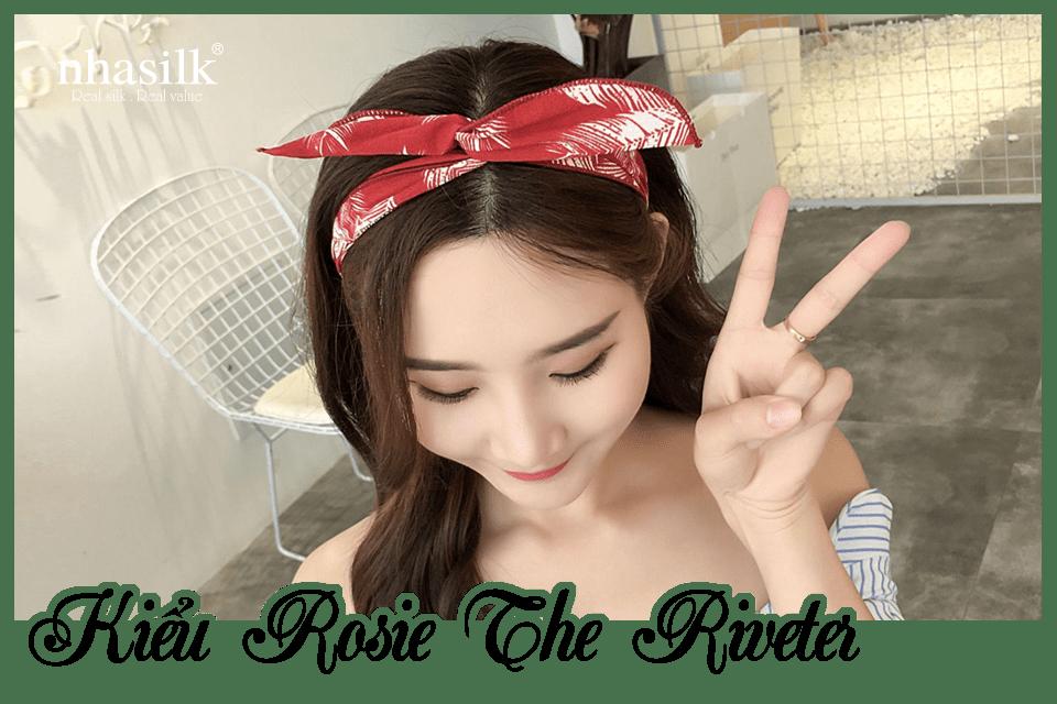 Kiểu Rosie The Riveter