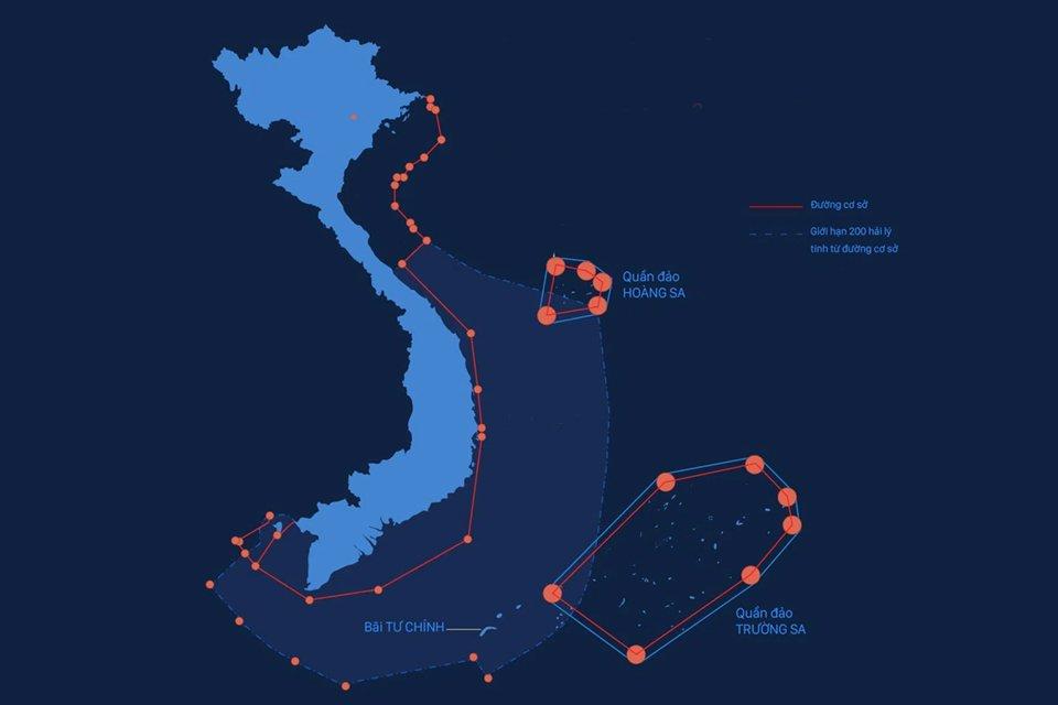 Hình ảnh bản đồ Việt Nam