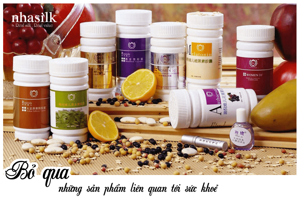 Bỏ qua những sản phẩm liên quan tới sức khoẻ