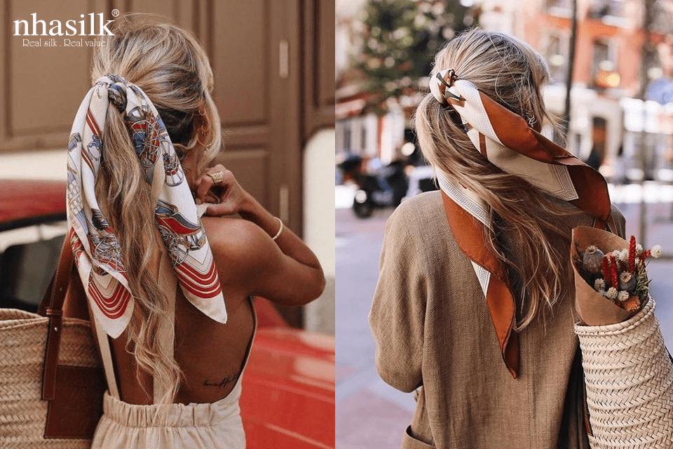 Làm duyên với mái tóc