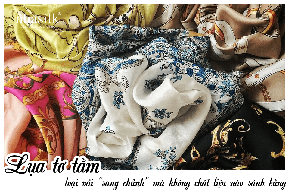 """Lụa tơ tằm - loại vải """"sang chảnh"""" mà không chất liệu nào sánh bằng"""