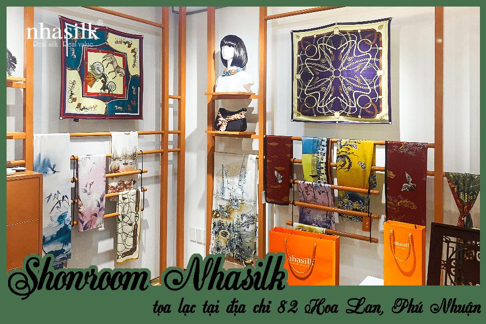 Showroom Nhasilk tọa lạc tại địa chỉ 82 Hoa Lan, Phú Nhuận