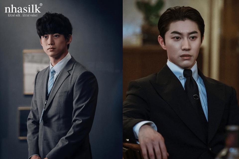 những nhân vật nam khác trong phim lại theo hướng thời trang đặc trưng của giới trẻ Hàn Quốc.