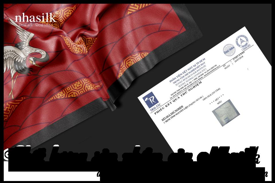 Chất lượng sản phẩm của Nhasilk đã được các cơ quan ban ngành công nhận